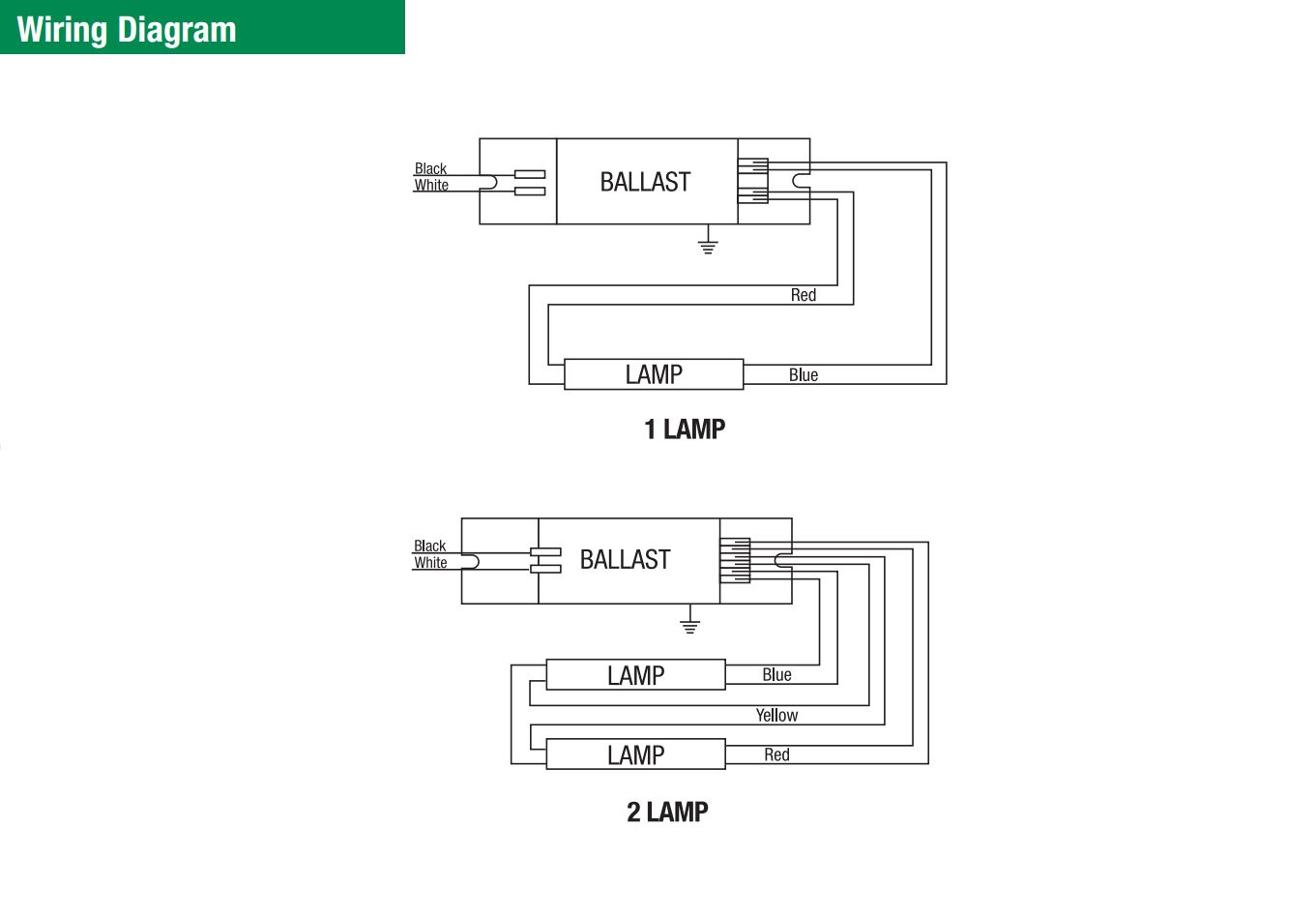 Triad Ballast Wiring Diagram - Cool Wiring Diagrams on