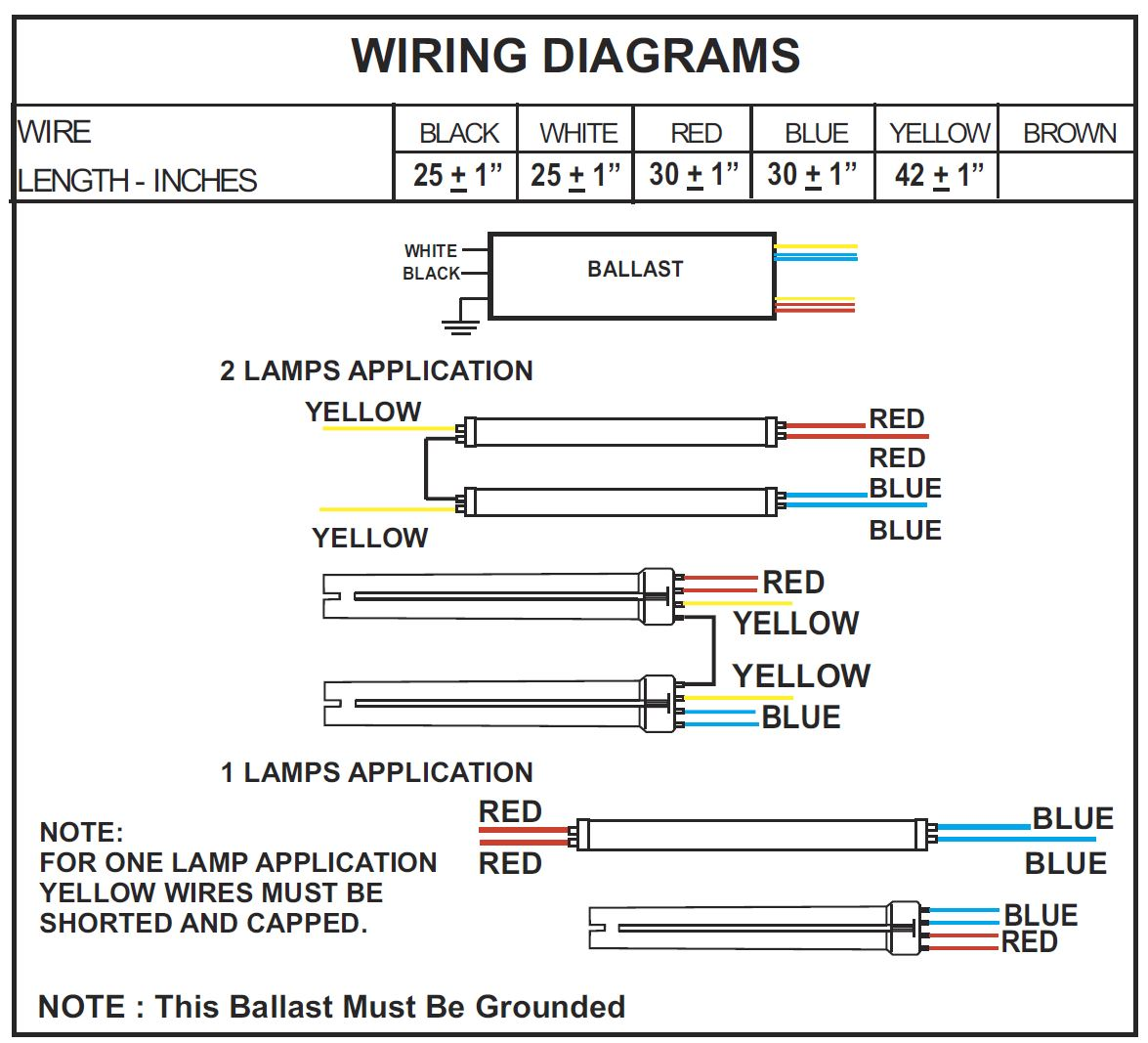 rha unv 254 lt5 2 lamp t5 multi purpose electronic 208 Volt Wiring Diagram
