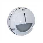7051-WH | Orbit Mini Surface Wall Light - White | USALight.com