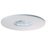 "B1314W-WH | 3"" Pinhole Baffle Trim - Regressed 