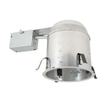 "B6-GU24-RIC | 6"" Miniature Compact Fluorescent GU24 IC Remodel Housing 