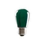 S14GRN1C/LED | Halco 80519 ProLED S14 Sign Lamps - Green | USALight.com