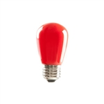 S14RED1C/LED | Halco 80517 ProLED S14 Sign Lamps - Red | USALight.com