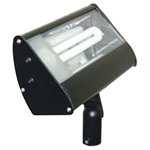 S613-BK | Fluorescent Outdoor Small Flood - Energy Saving - Black | USALight.com