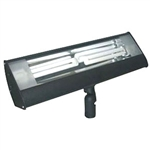 S626L-BK | Fluorescent Outdoor Long Flood - Energy Saving - Black | USALight.com