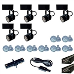 US-258-6B | Trade Show Track Lighting Kit - 6 Piece Low Voltage | USALight.com