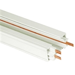 US-270W | 2' White Power Track - (Single Circuit) | USALight.com