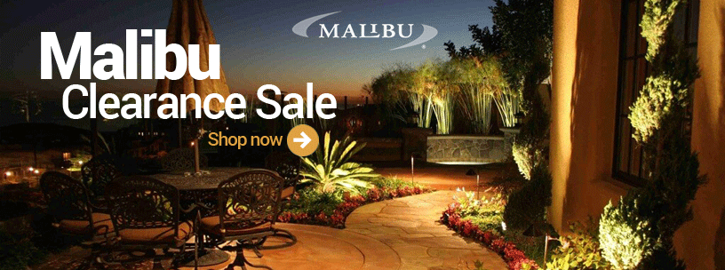 Malibu Lighting Clearance Sale