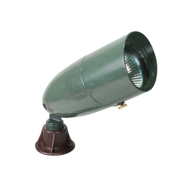 1071 gn orbit mr16 hooded bullet landscape light green for Bullet landscape lights