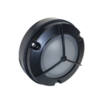 7053-BK | Orbit Mini Surface Wall Light - Black | USALight.com