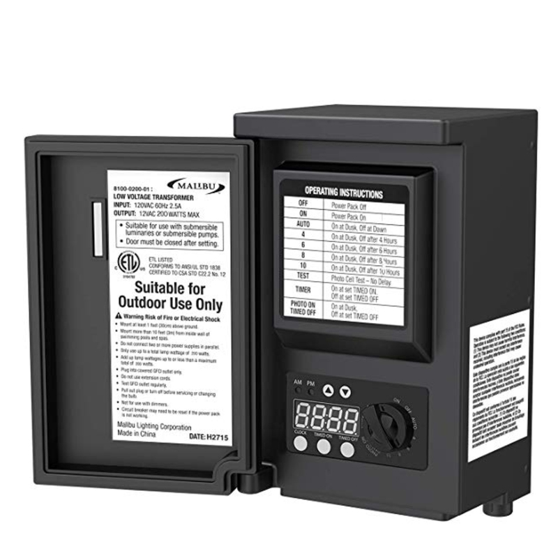 Malibu 8100 0200 01 200 Watt Digital Power Transformer