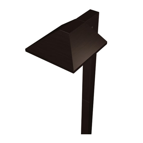 2101 01 Malibu LED Charcoal Brown Modern Pathway Light