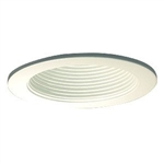 "B1301W-WH | 3"" Ring with Baffle Trim - Regressed 