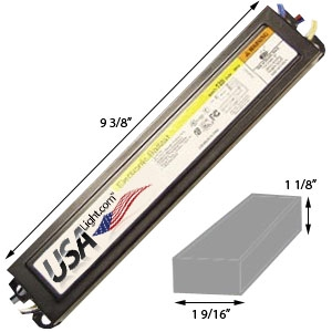 4lamp 4u0027 t8 fluorescent ballast economy