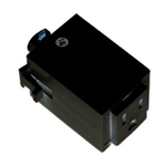 ET124-BK | Track Outlet Adaptor - Black | USALight.com