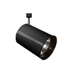 ET224-ABK | Flat Back Cylinder Track Light - Line Voltage - PAR38 | USALight.com