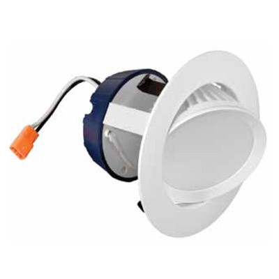 Sylvania 70387 4 Recessed LED Downlight Retrofit Kit Gimbal