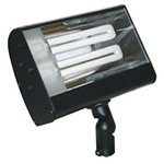 S626-BK | Fluorescent Outdoor Small Flood - Energy Saving - Black | USALight.com