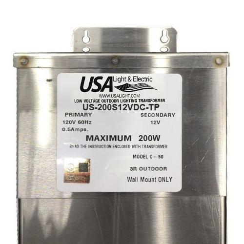 Ssc200s12vdc Tp Outdoor Magnetic Transformer With