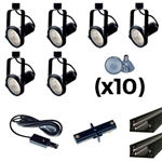 US-241-6B | Trade Show Lighting Kit - 6 Piece Gimble Ring | USALight.com