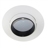 "US-607B | 6"" Adjustable Eyeball Baffle Trim 