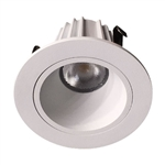 "US-LM200W-40 Dimmable 2"" Recessed LED Downlight - 9 Watt - 4000K - Smooth"