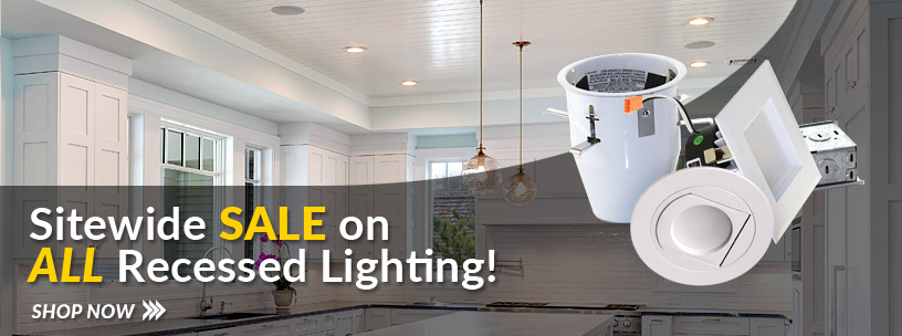 Recessed Lighting Sale